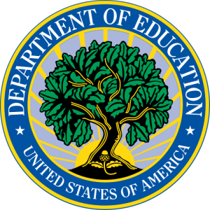 Actual US Dept of Education Logo